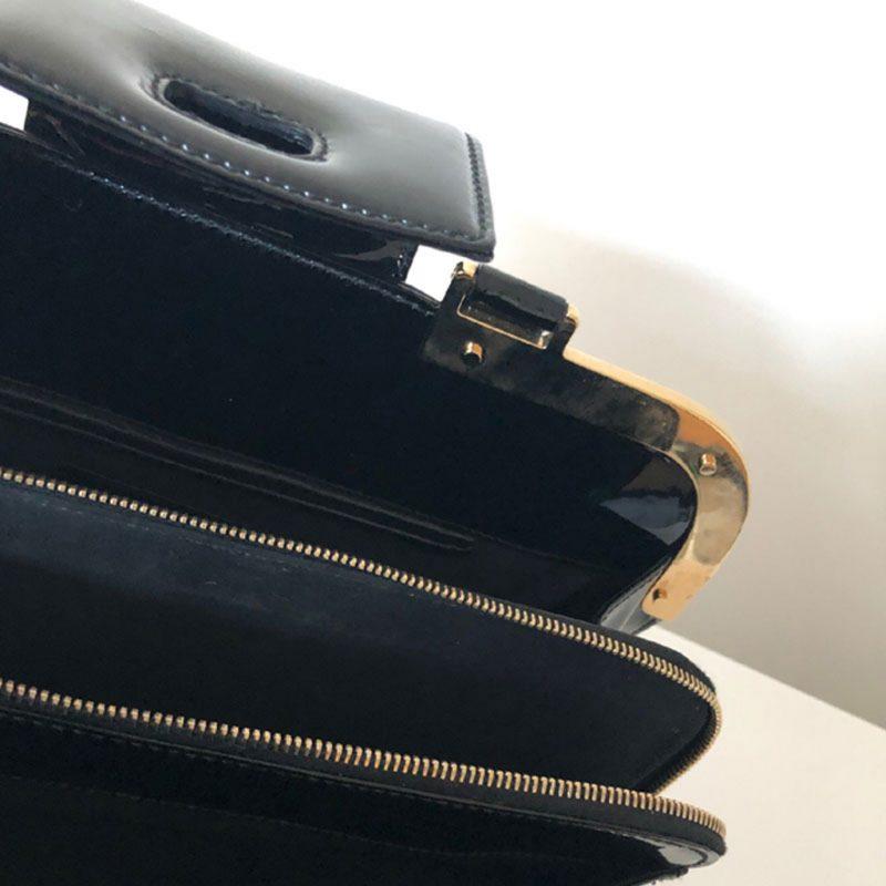 Handtasche YSL Lackleder